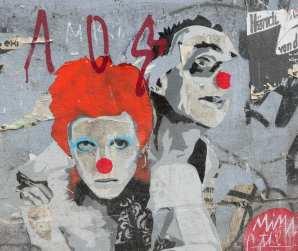 Clowns Streetart