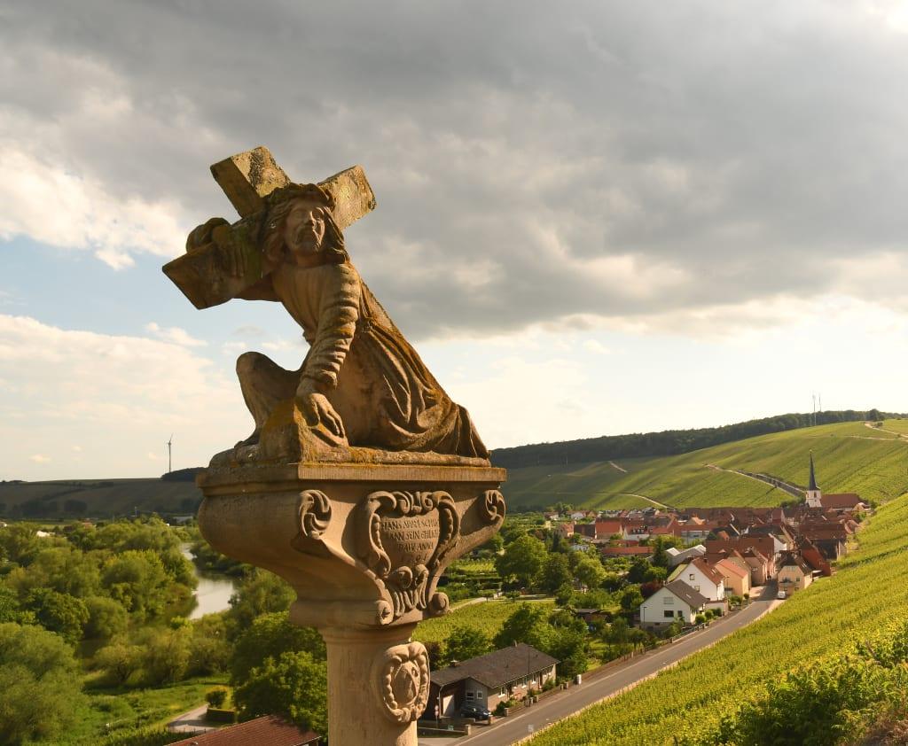 Blick auf Escherndorf