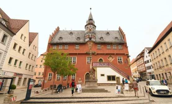 Rathaus einer Altstadt