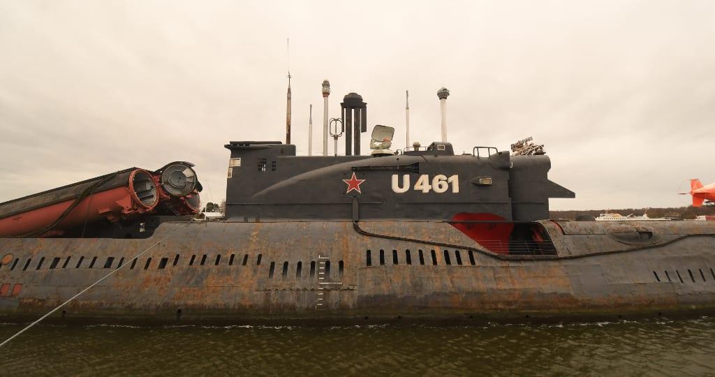 U Boot mit Aufschrift U 461