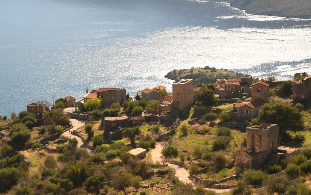 Dorf überm Meer