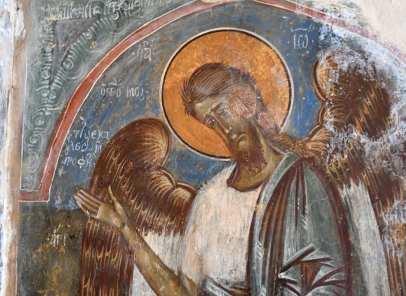 Freske Jesus Heiligenschein