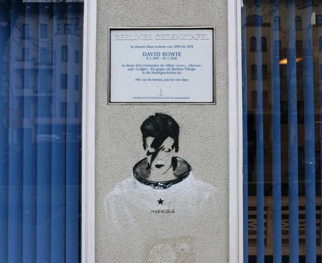 Street Art mit David Bowie
