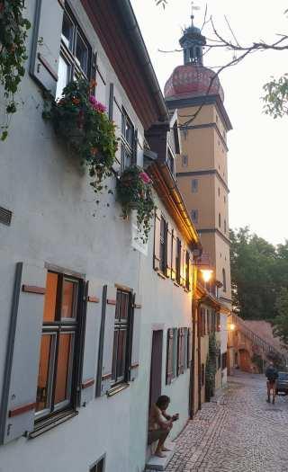 Historisches Viertel mit Turm