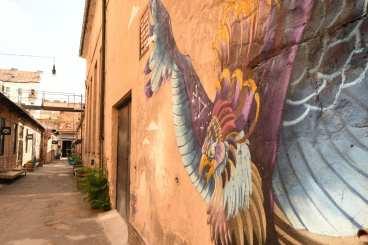 Streetart Vogel