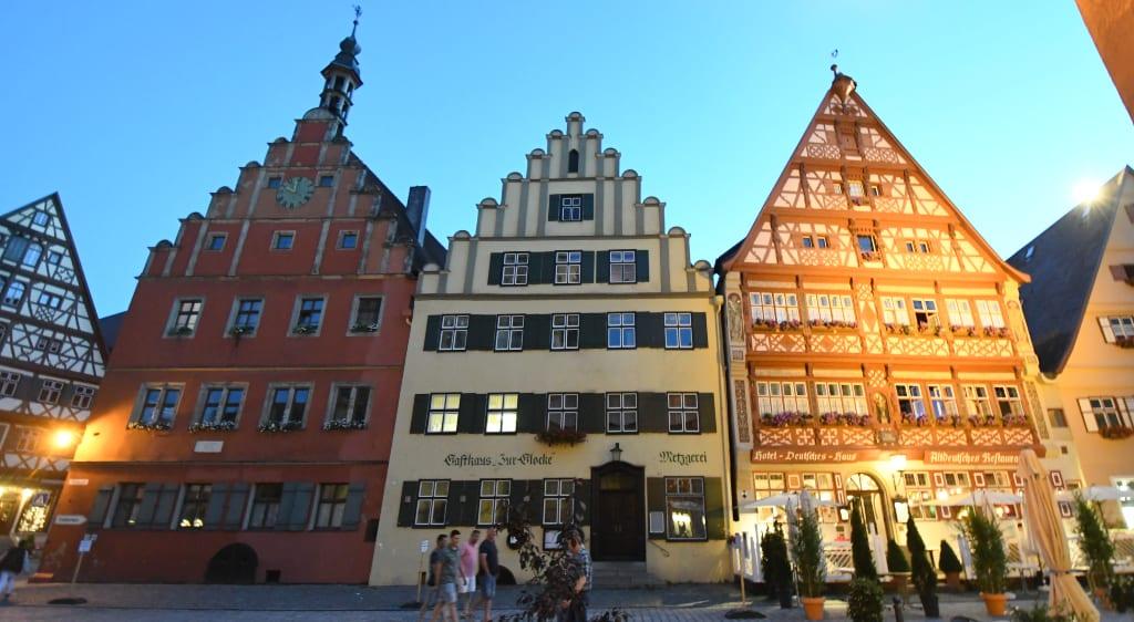 Drei wunderschöne Fachwerkhäuser