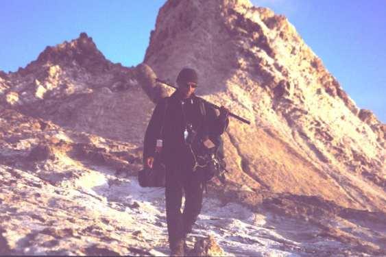 Filmaufnahmen Berge