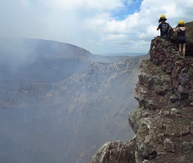 Aussichtspunkt Vulkan Rauch