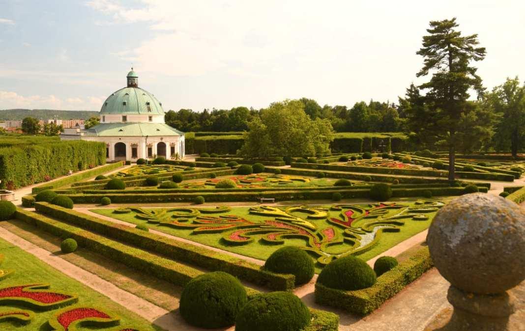 Pavillon in einem Barockgarten
