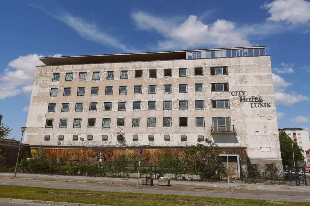 Hotel Lunik Ruine