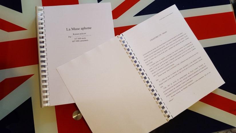 Manuscrit prêt à envoyer à une maison d'édition