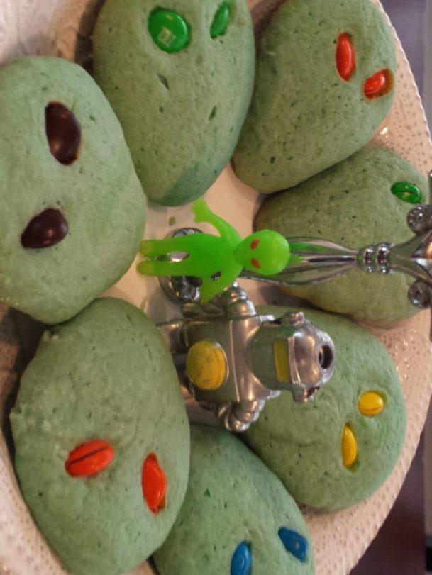 Alien Invasion cookies