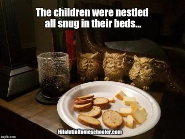 children-nestled