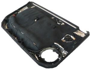 Car Hifi Türverkleidung mit Dämmung und Dämpfung