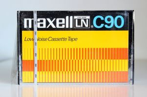 Maxell LN C90, from c.1978