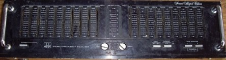 ADC Stereo Frequency Equalizer SS-11
