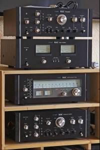 Sansui CA2000, BA2000, Tu 9900 and AU20000