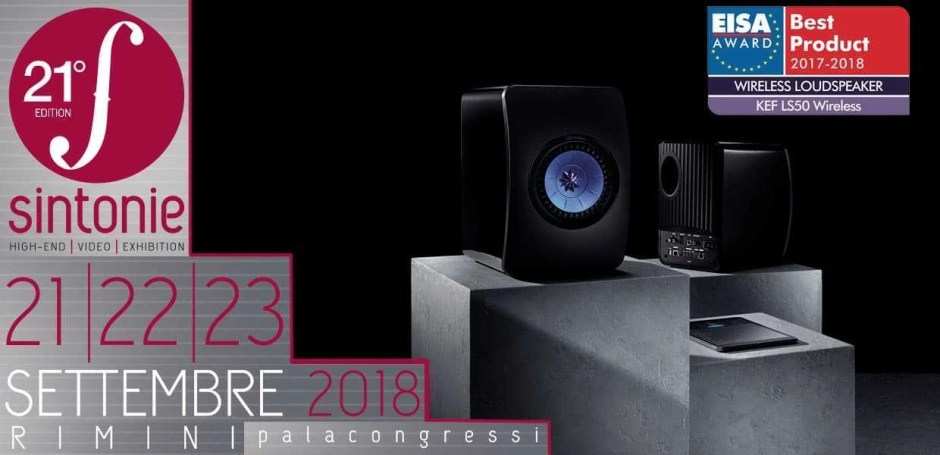 Sintonie 2018 - Kef LS50 Wireless