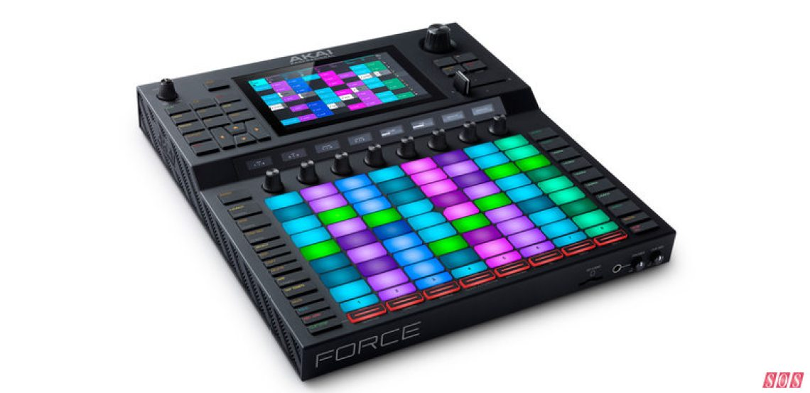 Light my way — Akai's Force is an all-in-one production instrument