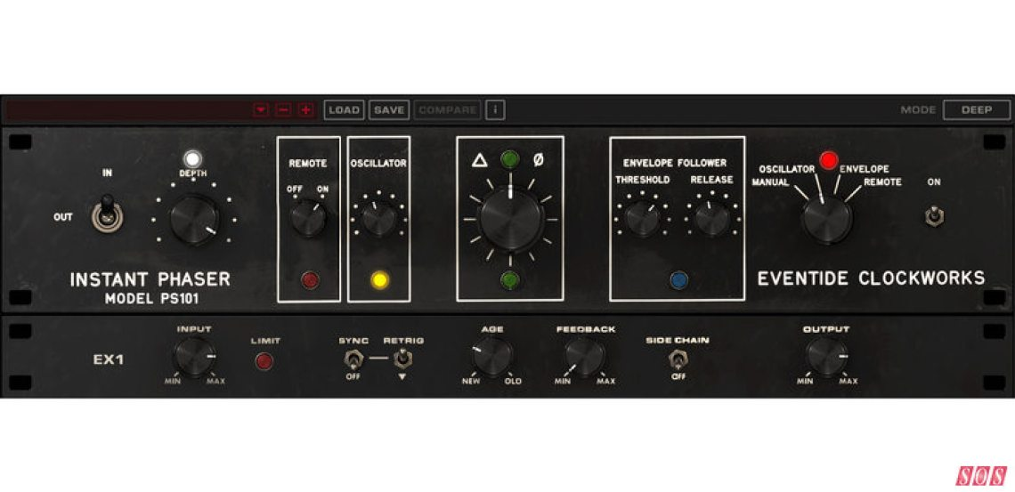 Eventide's Instant Phaser MkII plug-in — a recreation of the original hardware 47 years on