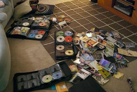 musique dématérialisée - CD
