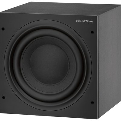 Bowers & Wilkins ASW610XP è un subwoofer amplificato nero