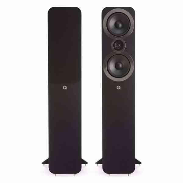 q acoustics 3050i è un diffusore da pavimento nero