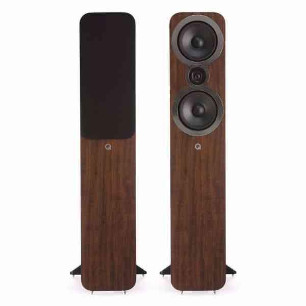 q acoustics 3050i è un diffusore da pavimento noce