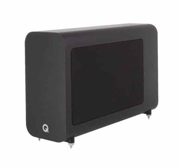 Q Acoustics 3060s è un subwoofer amplificato nero