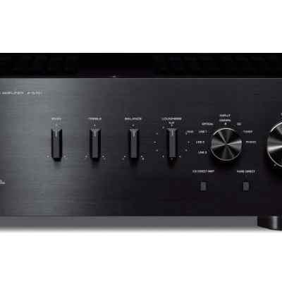 Yamaha A-S701 è un amplificatore integrato nero