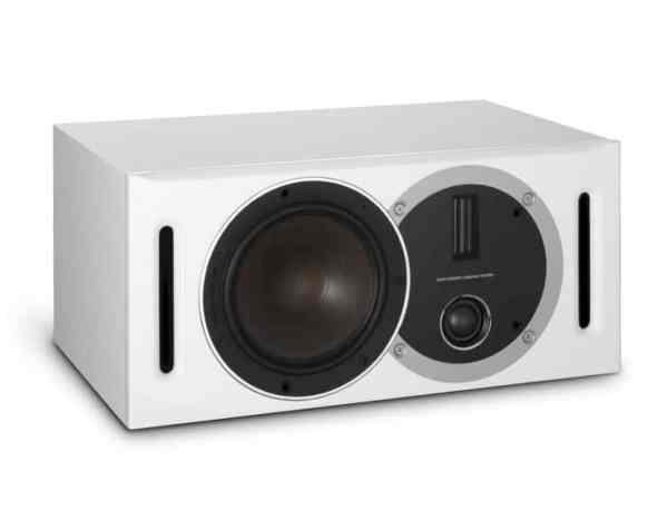 Dali Optcion Vokal è un diffusore per canale centrale bianco