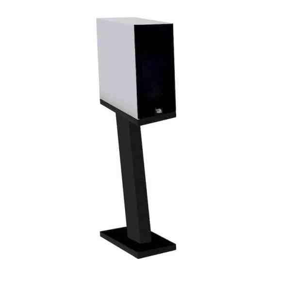 Davis Acoustics Courbet N°3 è un diffusore da stand bianco griglia