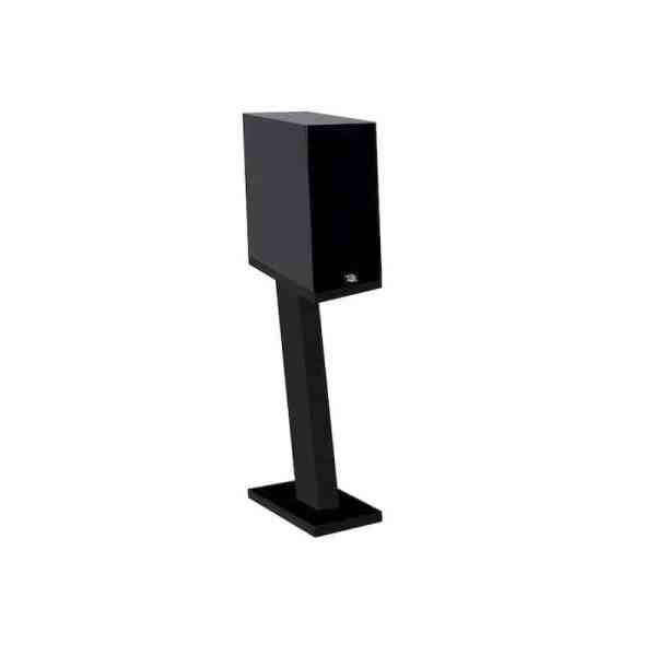 Davis Acoustics Courbet N°3 è un diffusore da stand nero griglia