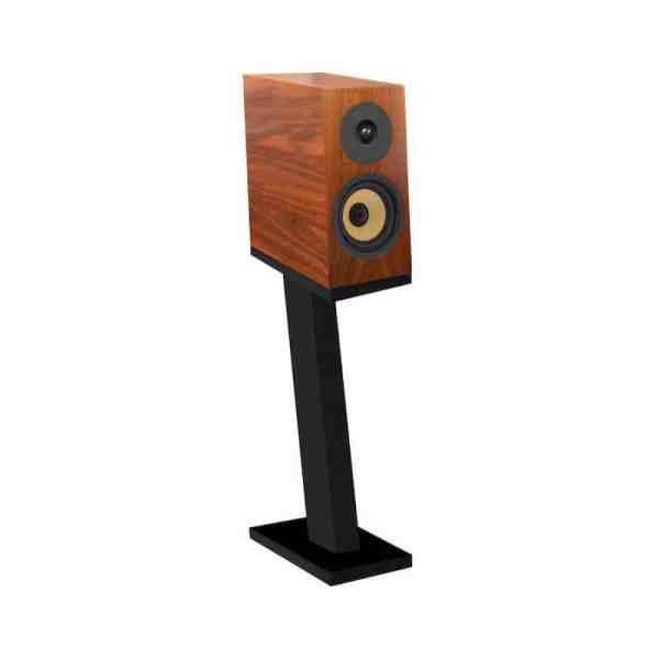 Davis Acoustics Courbet N°3 è un diffusore da stand noce scuro aperto