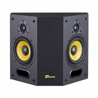 Davis Acoustics Mia 40 è un diffusore da parete nero aperto