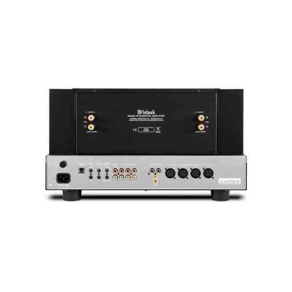 Mcintosh MA352 è un amplificatore integrato nero e cromato retro