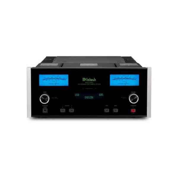 McIntosh MA7200 è un amplificatore integrato nero fronte