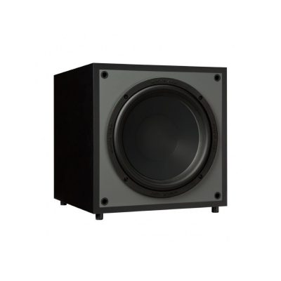 Monitor Audio Monitor MRW-10 è un subwoofer nero aperto