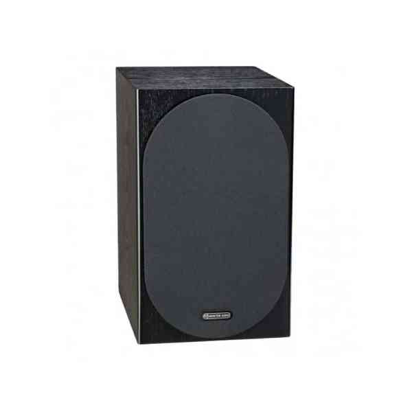 Monitor Audio Silver 100 6G è un diffusore da stand nero griglia