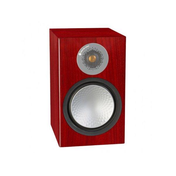 Monitor Audio Silver 100 6G è un diffusore da stand rosenut aperto