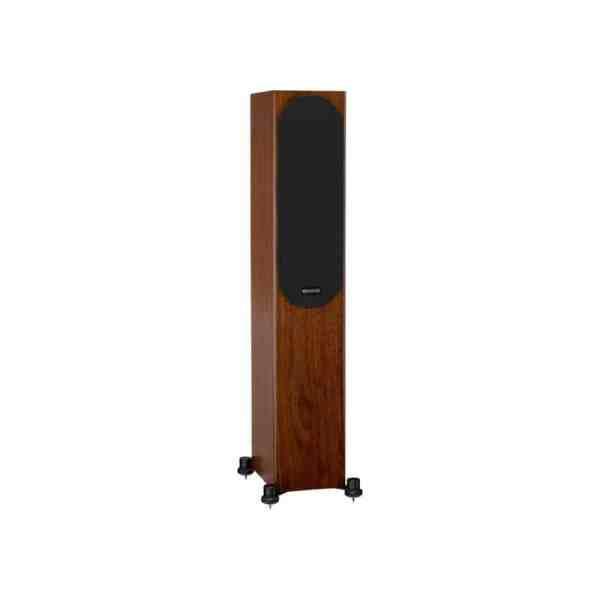 Monitor Audio Silver 200 6G è un diffusore da pavimento noce griglia