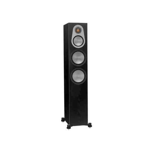 Monitor Audio Silver 300 6G è un diffusore da pavimento nero aperto