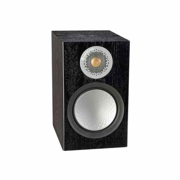 Monitor audio Silver 50 6G è un diffusore da stand nero aperto