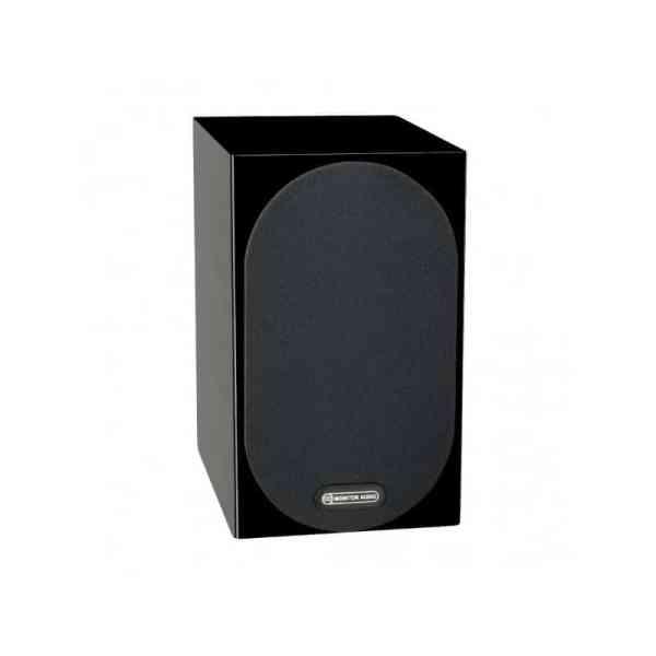Monitor audio Silver 50 6G è un diffusore da stand nero laccato griglia