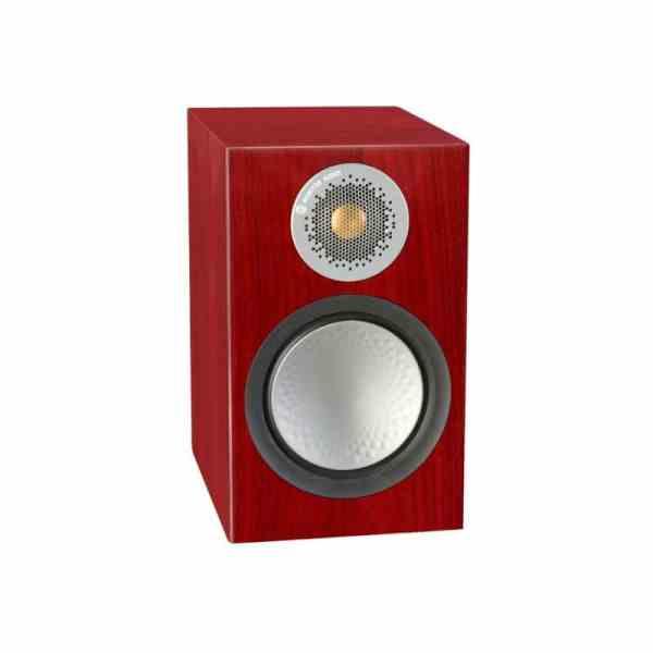 Monitor audio Silver 50 6G è un diffusore da stand rosenut aperto