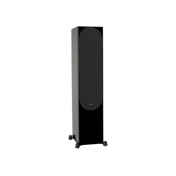 Monitor Audio Silver 500 6G è un diffusore da pavimento nero laccato griglia