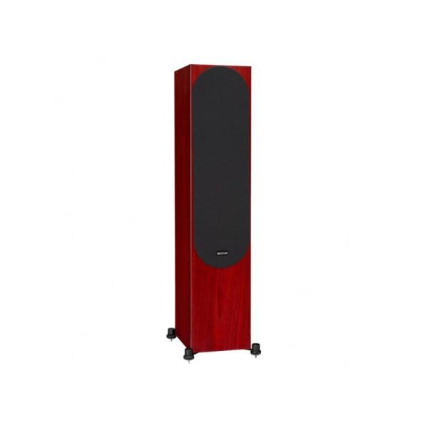 Monitor Audio Silver 500 6G è un diffusore da pavimento rosenut griglia