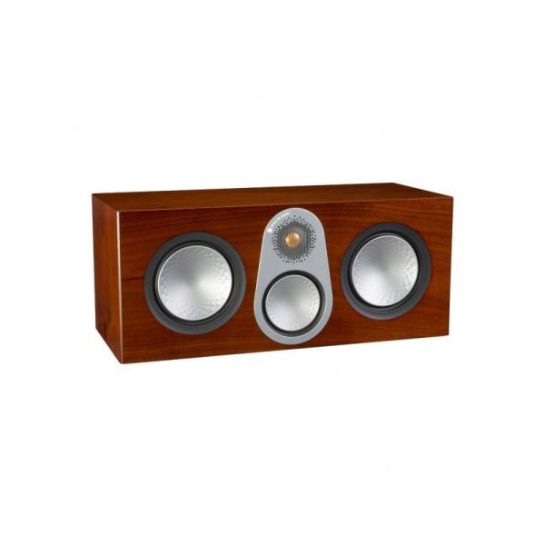 Monitor Audio Silver C350 è un diffusore per canale centrale noce aperto