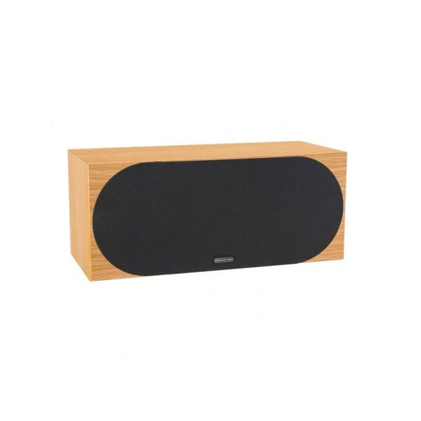 Monitor Audio Silver C350 è un diffusore per canale centrale rovere naturale griglia