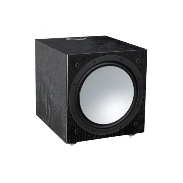Monitor Audio Silver W-12 6G è un subwoofer nero aperto